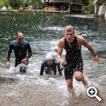 Naturpark CROSS Triathlon Weissensee start