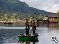 Many hotels and pensions offer a special service for hobby fishermen.