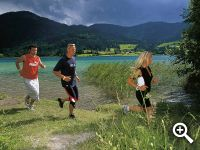 Weissensee - the pleasure of running